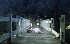the butterfly effect (londonscene) Tags: new york bridge blue sleeping girl canon rebel butterflies dreaming 365 xs tonawanda