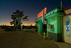Diner (Noel Kerns) Tags: california lake set night movie four los angeles diner aces archshot
