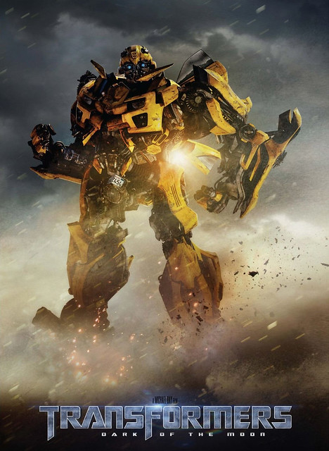 bumblebee transformer 3 dark of the moon poster dotm