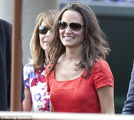Pippa now rivals Kate in selling power as £129 red Hobbs dress sells out  5