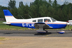 G-FLAV (QSY on-route) Tags: club aero lincon sturgate egcs gflav 04062011