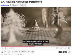 Pottermore - by J.K. Rowling