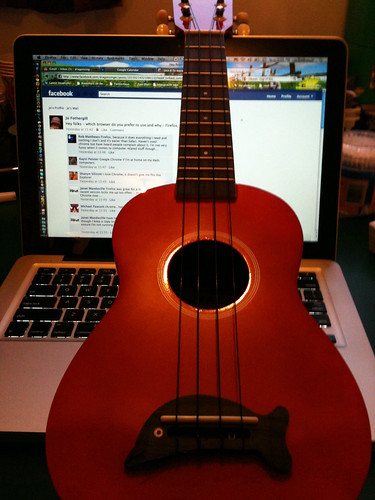 Day 178 - Ukulele by dragonsinger