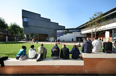 View Across Campus Green To New Lecture Theatre
