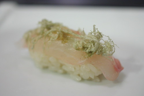 Ishidai (Snapper with Yuzu)