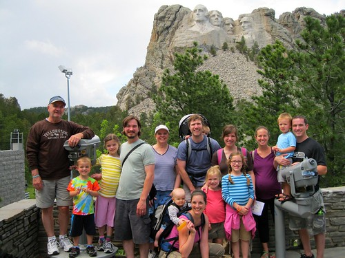 fever/shepard family at Mt. Rushmore