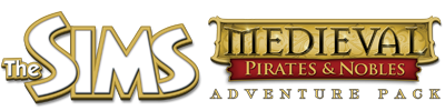 The Sims Medieval Pirates and Nobles Expansion Logo