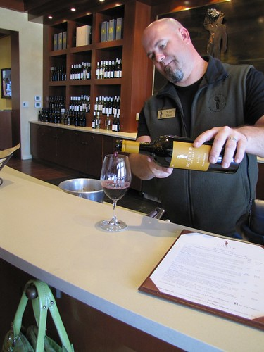 Scott Tidd of Scheid Vineyards Wine Lounge