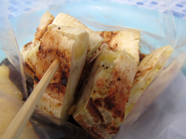 Grilled Normal Banana (Gluay Ping)