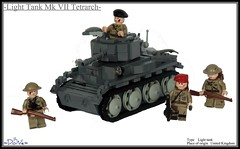 "Lego ww2 Light Tank Mk VII ""Tetrarch"" (=DoNe=) Tags: light tank lego wwii homemade ww2 vehicle british minifigs custom done mk vii tetrarch legolighttankmkviitetrarch"
