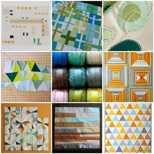 For the Love of Solids [a modern swap] Mosaic