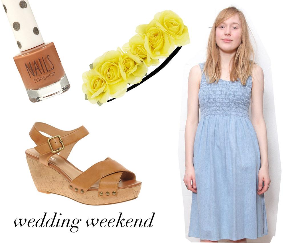 wedding weekend wishlist