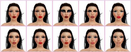 Deesse's Skins - Antonia make ups