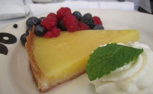 Lemon tart, Brasserie Jo, Boston