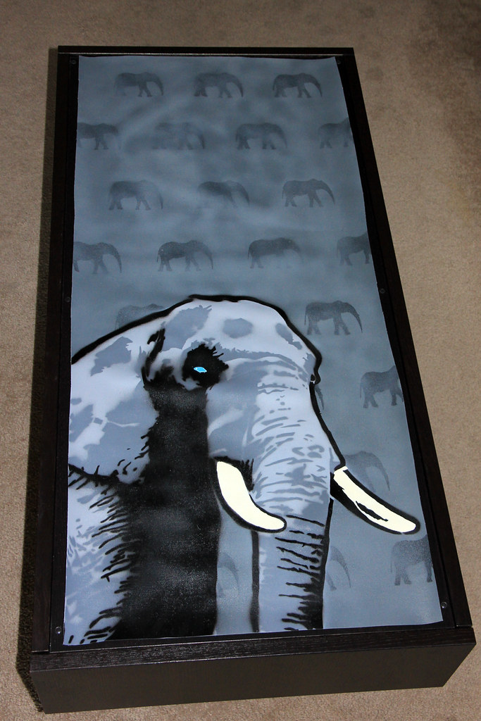 Coffee Table Elephant