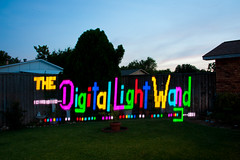 The Digital Light Wand!! (TxPilot) Tags: longexposure light lightpainting art night painting photography lights graffiti nikon long exposure paint bright led lap lighttrails movinglights lightgraffiti microcontroller arduino lightpaint lightemittingdiode d700 lightgraf lightartphotography arduinomega hl1606 programmablergbledlightstrip digitallightwand