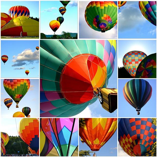 Hot Air Balloon Festival, Stowe, Vermont