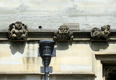 Ornamental carvings, Magdelan College, Oxford (Snapshooter46) Tags: gargoyle oxford stonecarvings downspout ornamentalcarvings magdelancollege