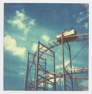 Polaroid Coaster of fun