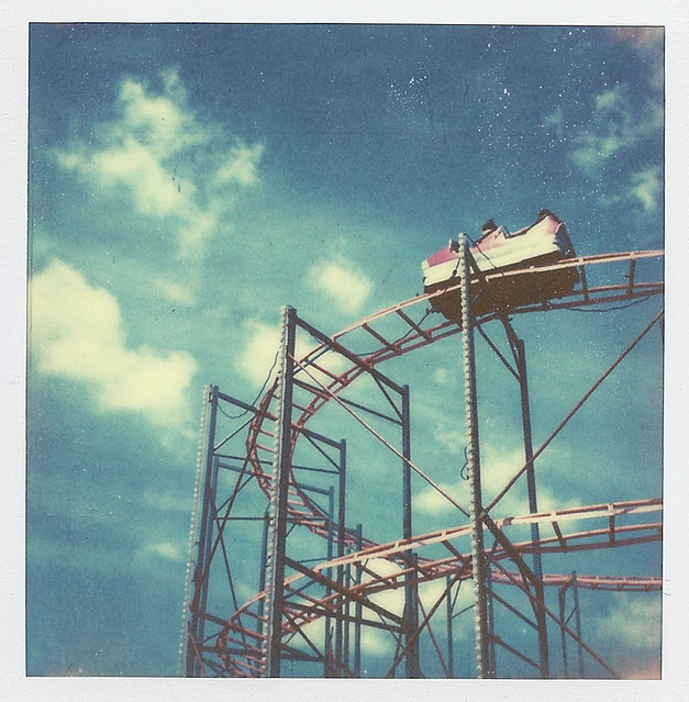 Polaroid Coaster of fun