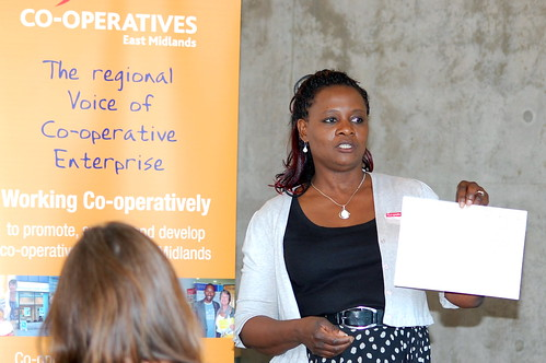 Dorothy Francis from Leicestershire's Co-operative and Social Enterprise Development Agency
