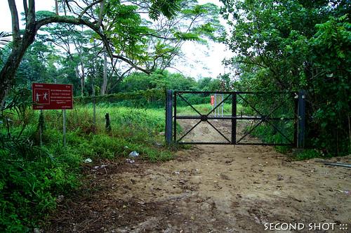 End of Kg Mandai Kechil