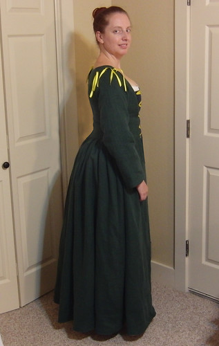 Flemish Dress - Side View