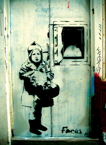 Banksy? in London