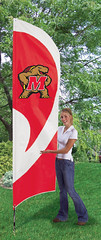Maryland Tall Feather Flag