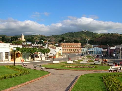 Praça da cidade de Bonito- PE by Everson Cavalcante