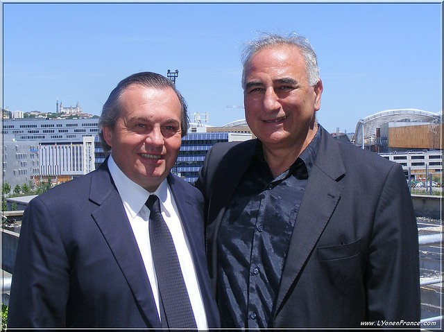 Olivier Ginon et Georges Képénékian