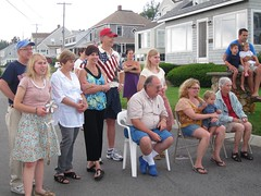 Watching The Parade (Joe Shlabotnik) Tags: maine parade sue phyllis everett verne 2011 higginsbeach christineh yvonnej billh carlj samanthaj july2011 alexandraj