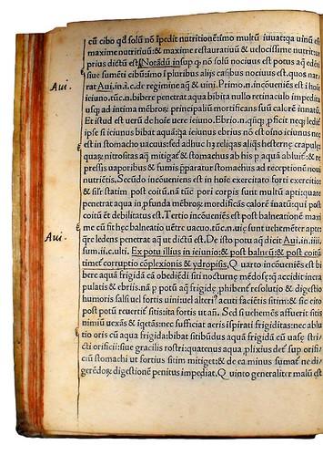 Annotations in Regimen sanitatis Salernitanum