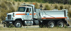 CALTRANS - INTERNATIONAL DUMP TRUCK (Navymailman) Tags: california transportation department of