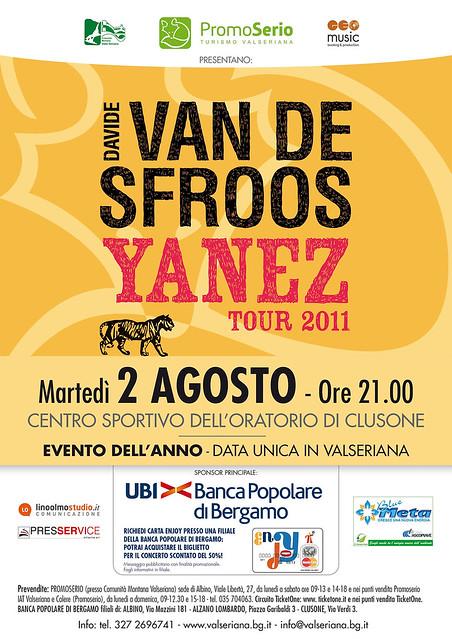Van De Sfroos - Concerto del 2 agosto