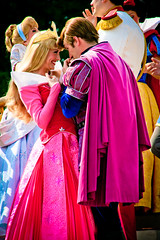 Aurora and Prince Phillip (abelle2) Tags: princess prince disney disneyworld aurora wdw waltdisneyworld sleepingbeauty magickingdom disneyprincess princephillip princessaurora dreamalongwithmickey disneyprince castleshow