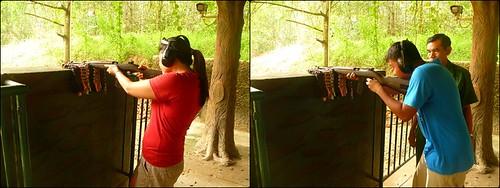 Shooting range, Cu Chi