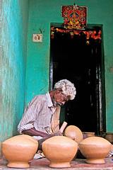 Photography (345) (Mr Kay Photography) Tags: travel portrait people india tourism canon faces mud potter kerala powershot pot pots human portraiture pottery karnataka canonpowershot mrkay bengaluru traveltourism narayanpura