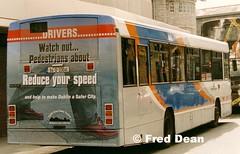 Dublin Bus AD41 (94D33041). (Fred Dean Jnr) Tags: dublin alexander daf setanta dublinbus july1998 sb220 ad41 busathacliath adclass cityswift megarear dublinroadsafetycouncil 94d33041 roadsafetycouncil hawkinsstreetdublin dbrook