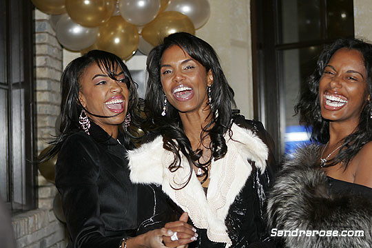 kim porter's birthday 3 brown girls