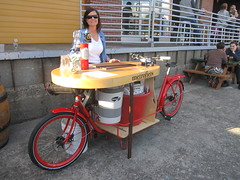 cargobike roll call_09 (METROFIETS) Tags: green beer bike bicycle oregon garden portland construction paint nw box handmade steel weld coat transport craft cargo torch frame pdx custom load cirque woodstove builder haul carfree hpm suppenkuche stumptown paragon stp chrisking shimano custombike cargobike handbuilt beerbike workbike bakfiets cycletruck rosecity crafted 4130 bikeportland 2011 braze longjohn paradiselodge seattlebikeexpo nahbs movebybike kcg phillipross bikefun obca ohbs jamienichols boxbike handmadebike oregonhandmadebikeshow nntma hopworks metrofiets cirqueducycling oregonmanifest matthewcaracoglia palletbike oregonframebuilder seattlebikeshow bikefarmer trailheadcoffee cargobikerollcall