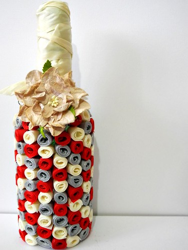 Altered Bottle Vase