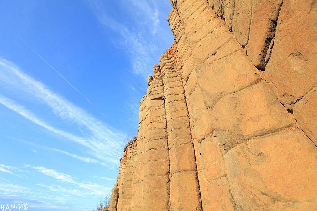 澎湖大菓葉柱狀玄武岩
