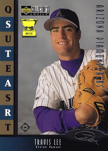 Baseball Card Bust Travis Lee 1999 Upper Deck Star Quest