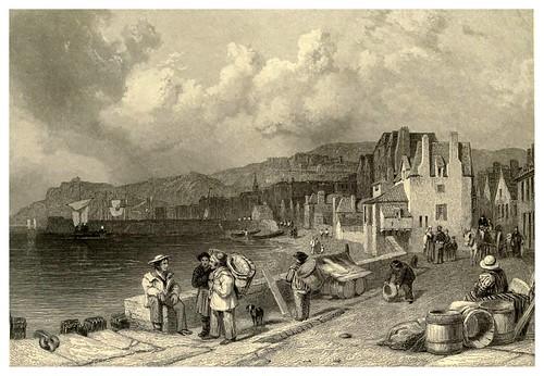 017-Puerto de San Pierre-Francia-Stanfield's coast scenery…1836- Clarkson Stanfield