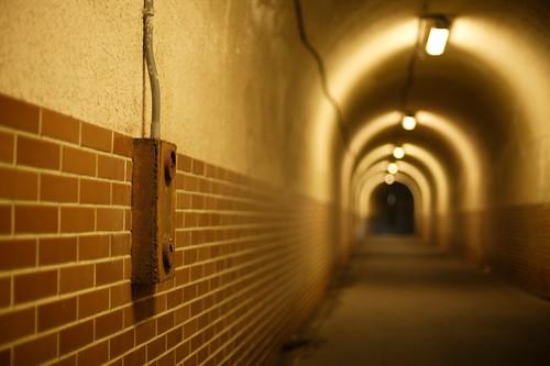 Pavement tunnel