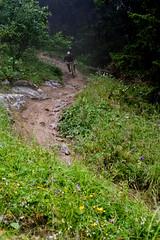 Damp (sharpneil) Tags: france les neil sharp biking vtt lindarets sharpographycouk
