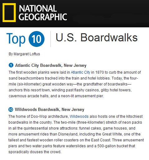 Best Boardwalks in U.S