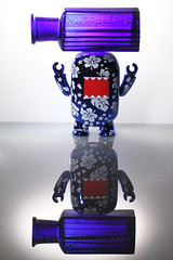 Day #1298 (cazphoto.co.uk) Tags: blue reflection bottle domo thief stealing project365 strobist canoneos7d nottobetaken project36612011 canon60mmefsf28usm 210711 beyond1096 fromthetoybox yn560speedlite posionbottle