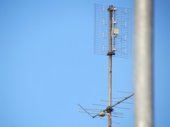 Focus on antenna (35x zoom)
